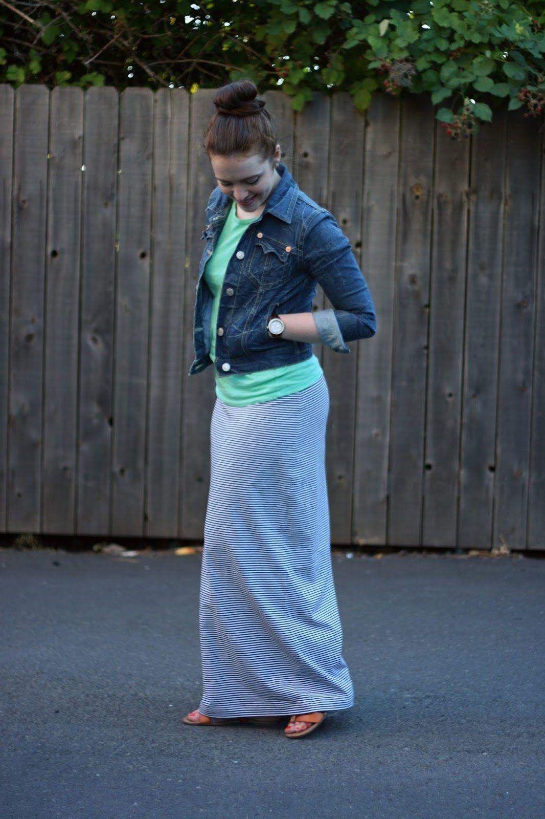 Maxi dress casual friday