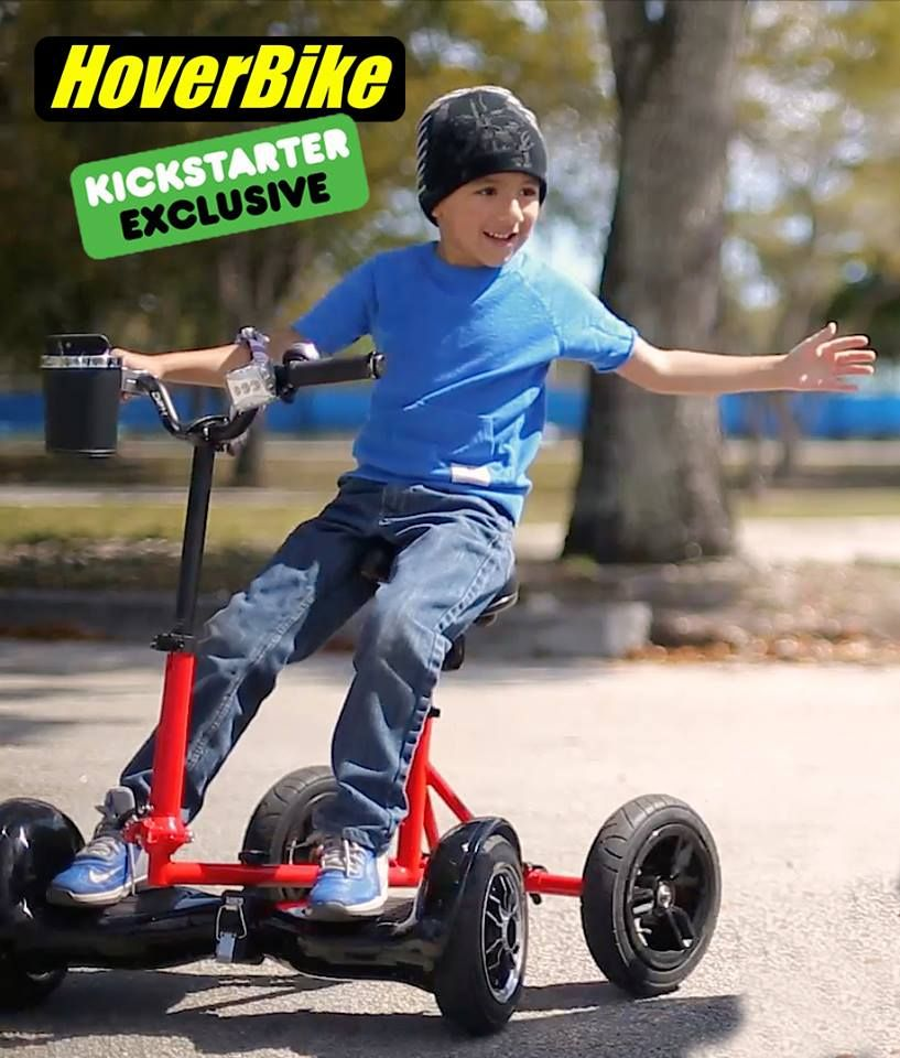 Patent Pending Hoverbike Turns Any Hoverboard Into Mini Electric