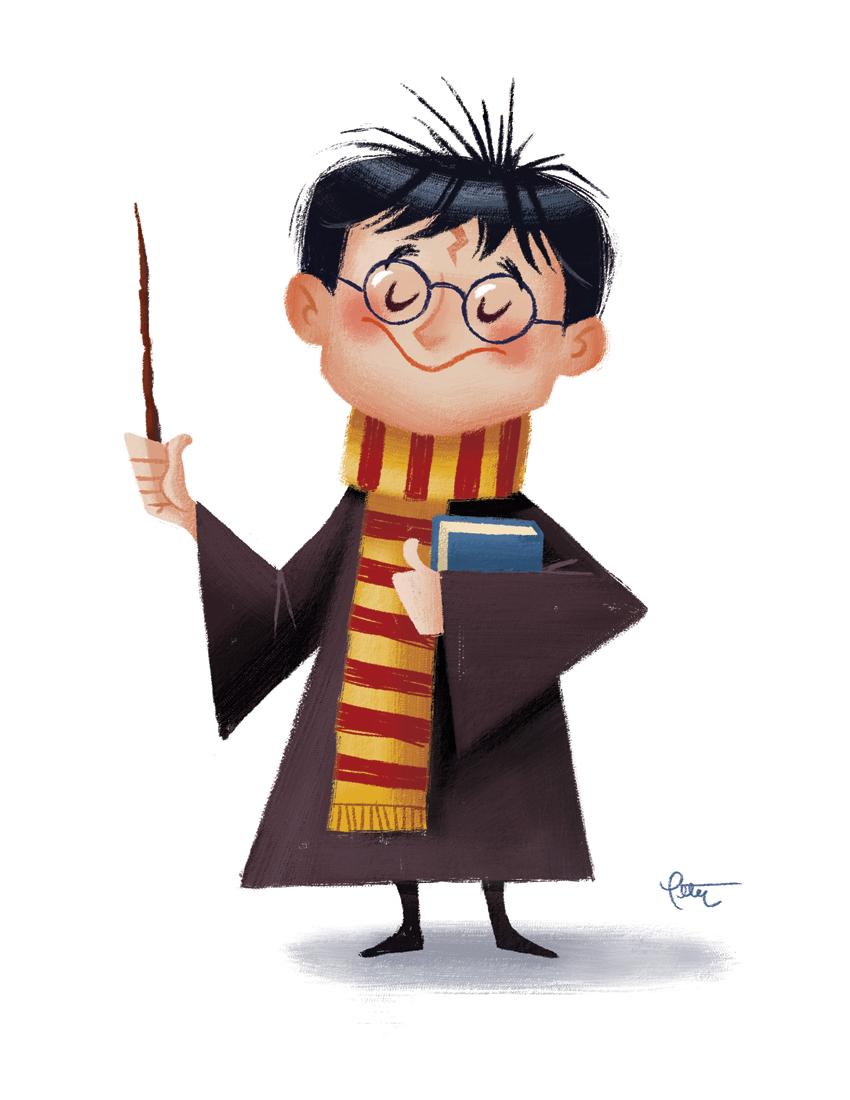 Happy Harry Potter Days 3 5: Happy Birthday, Harry, 11x14 Print
