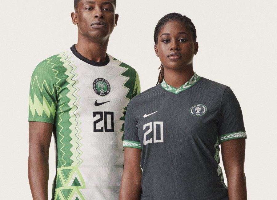 Nigeria 2020 Nike Home Away Kits Naija Nikefootball Footballshirt In 2020 Home And Away Nigeria Football Shirts