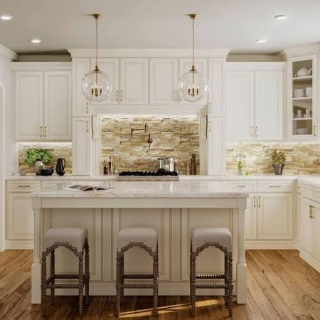 antique white stains - Google Search   Kitchen set cabinet ...