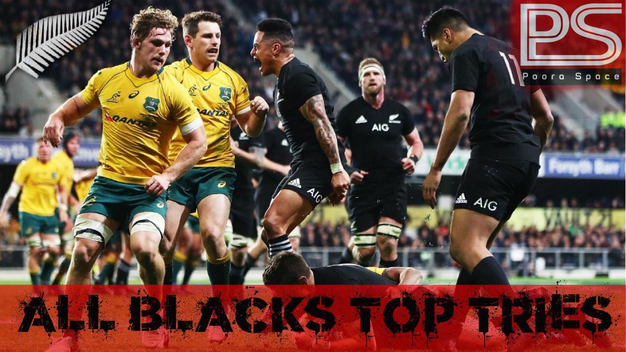 All Blacks Top Tries in Bledisloe Cup 2017 allblacks