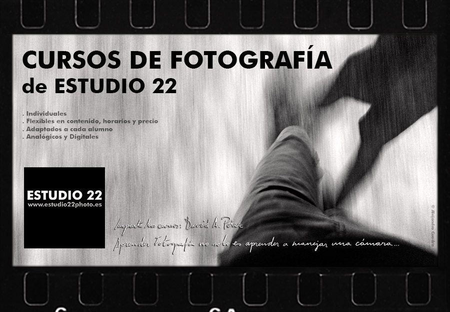 Cursos de Fotografía ESTUDIO 22.   Logroño - La Rioja www.estudio22photo.es