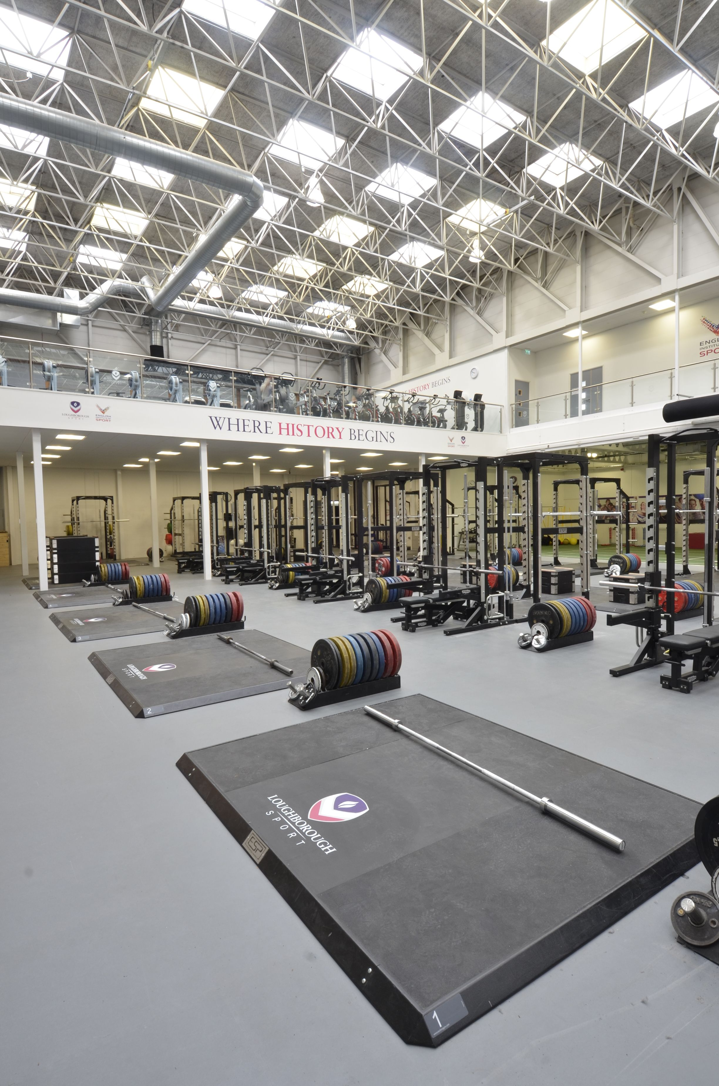 Loughborough university home gym❤ weightlifting gym