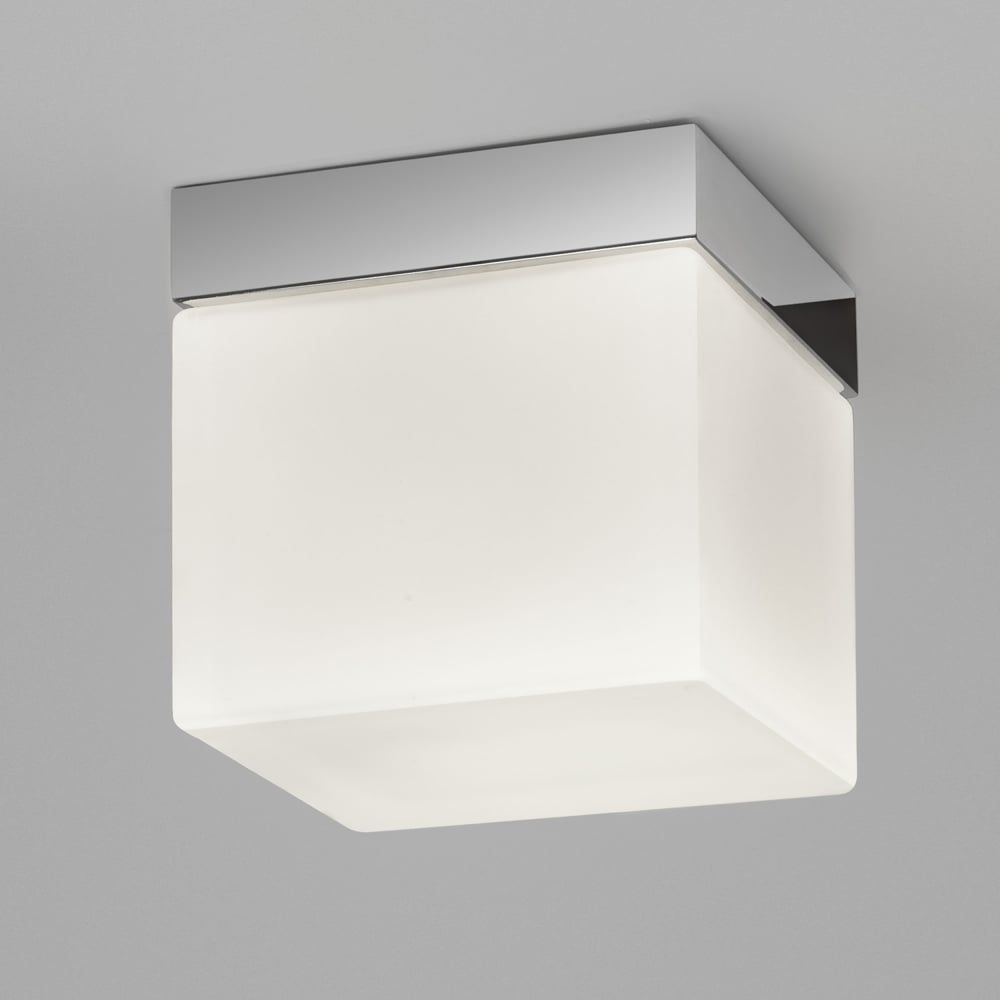 Astro Lights Sabina Square 175 Bathroom Ip44 Ceiling Light