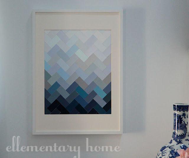 chantillons de peinture inspi brico pinterest chantillons de peinture id es tableau et. Black Bedroom Furniture Sets. Home Design Ideas