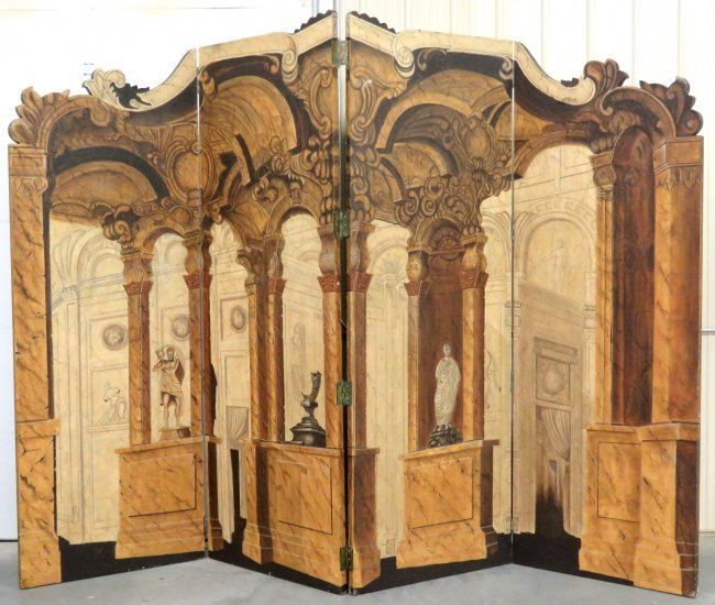 MAITLAND SMITH ITALIAN NEOCLASSICAL STYLE ROOM DIVIDER on