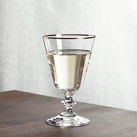 french wine glasses crate and barrel cocktail hour. Black Bedroom Furniture Sets. Home Design Ideas