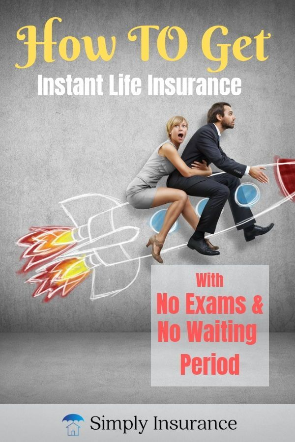Instant Life Insurance With No Exam & No Waiting Period ...