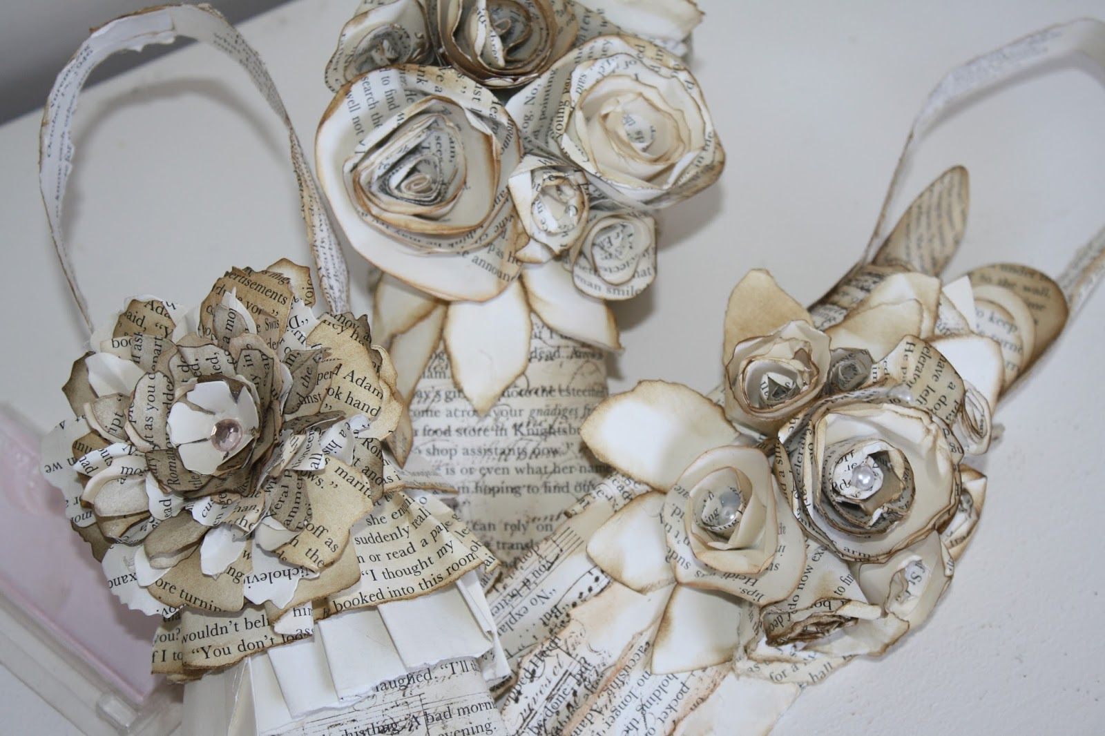 The Paper Addiction Flowers Flowers Everywhere Craft Ideas