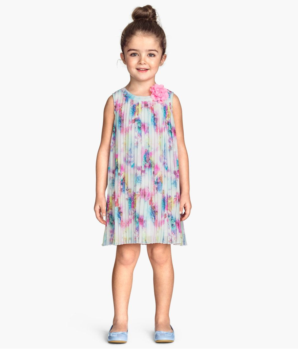 H&m pink pleated dress  hmprod   Flower Girl Dresses  Pinterest  Flower girl