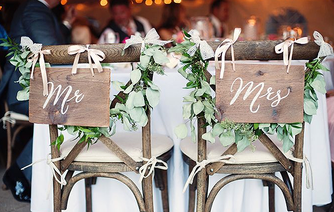 Confetti Collection Wedding Signs Auckland and Wedding