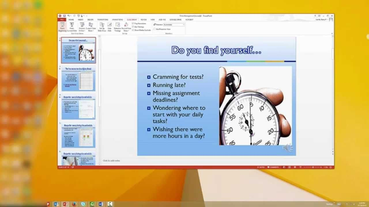 Recording A Powerpoint Presentation With Voice Over Narration And Savin Powerpoint Presentation Powerpoint Presentation