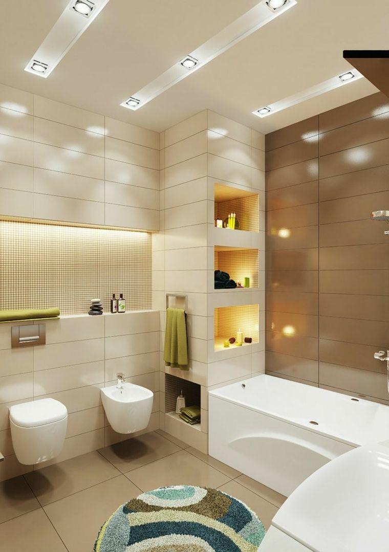 Cuartos de baño pequeños con diseños sensacionales | Cuartos de baño ...
