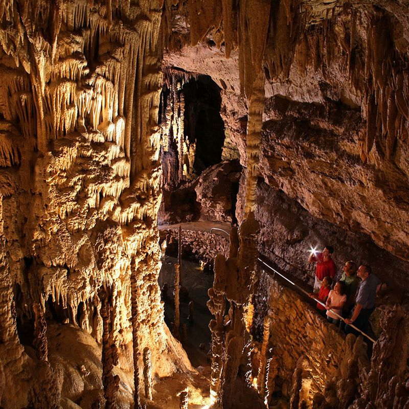 Natural Bridge Caverns Tour Recorrido De Las Cavernas En
