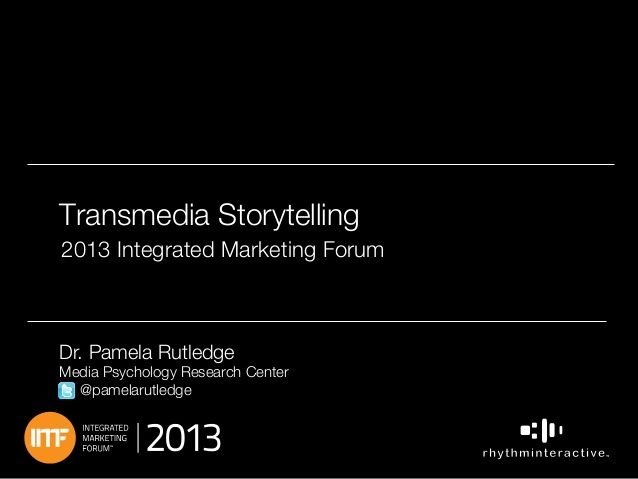 storytelling thesis