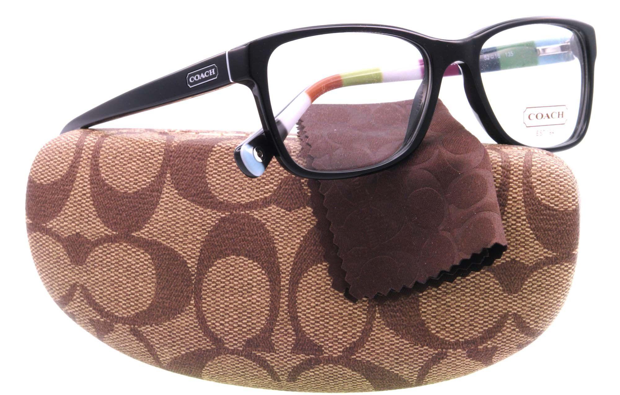 3ff0640156cc COACH HC 6013 Eyeglasses 5002 Black Demo Lens 54-16-135 | Glasses ...