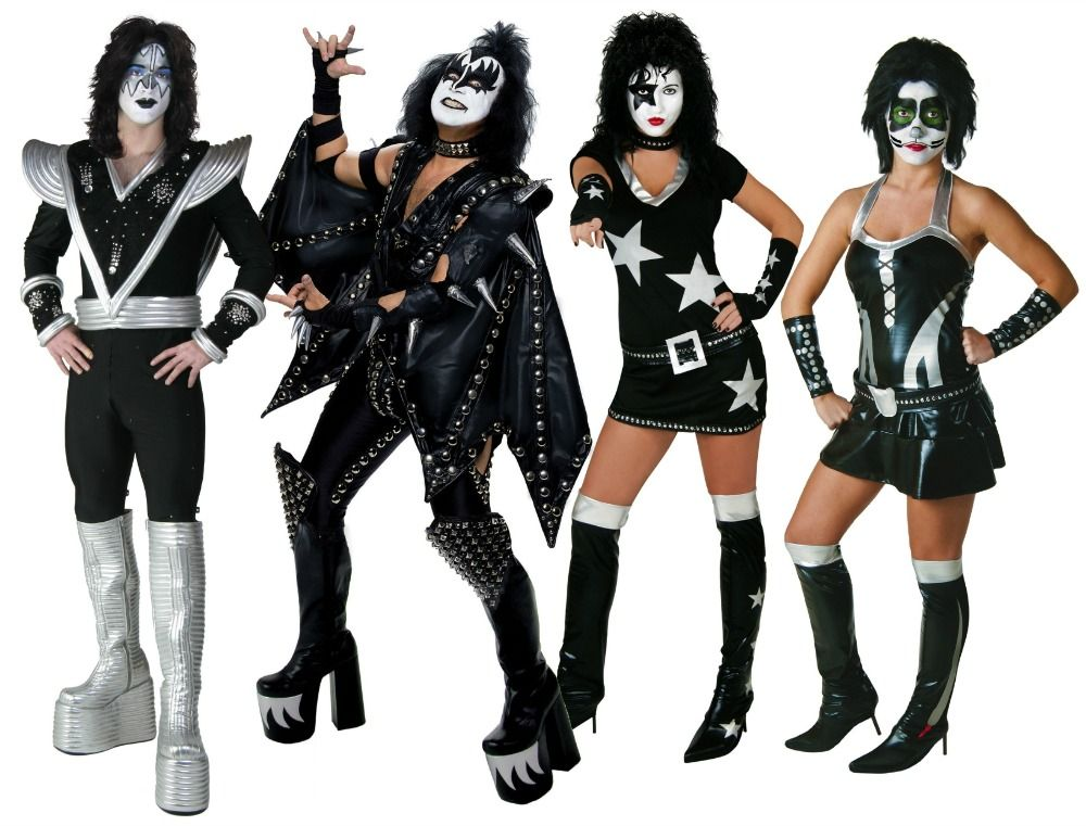 kiss disfraces