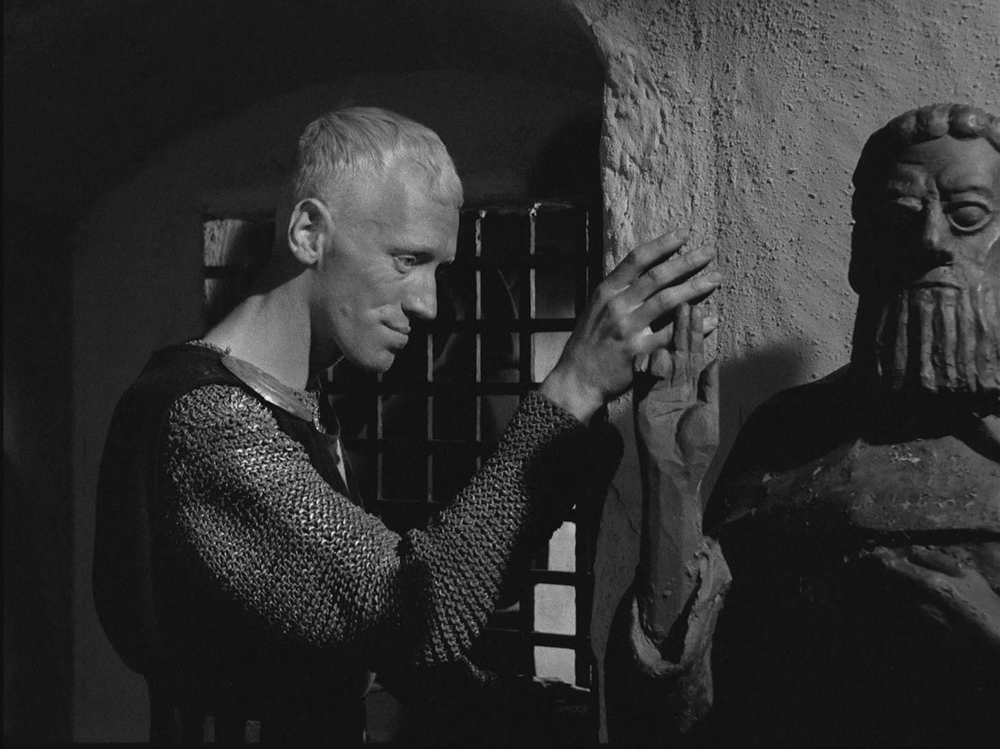 Max Von Sydow As Antonius Block-ის სურათის შედეგი