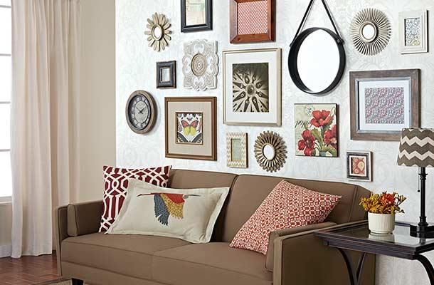 Love This Wall Collage Wall Decor Art Clocks Shelves