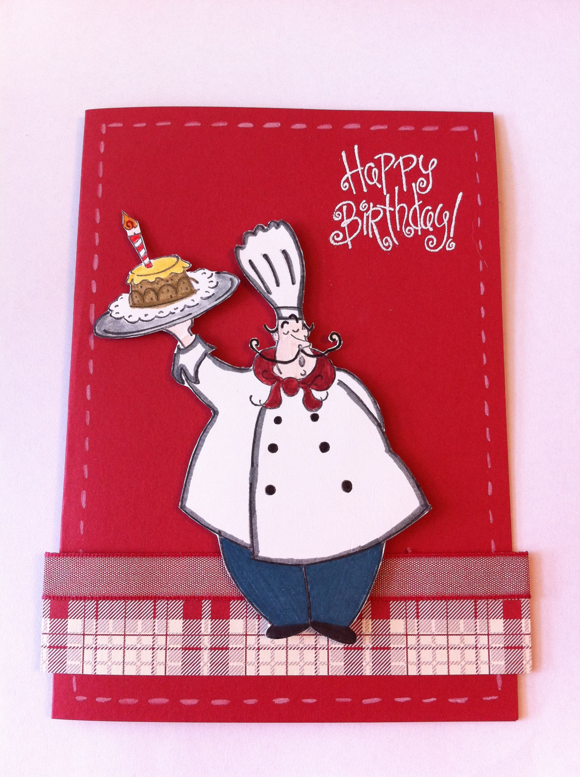 Voila Male Birthday Card Stampin Up Cards To Make Pinterest
