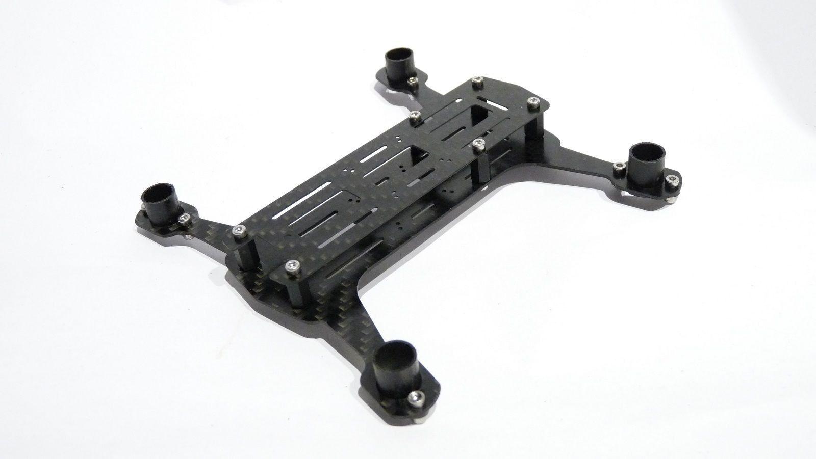 quadflyer 135mm carbon micro h quadcopter frame designed in germany made in germany - Micro Quadcopter Frame