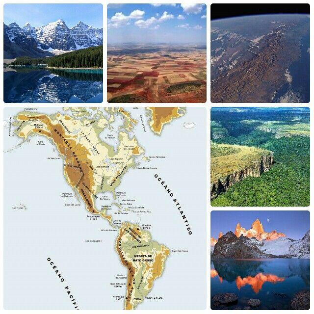 Relieve Los Paisajes De Izquierda A Derecha Son Las Montañas Rocosas Las Grandes Llanuras Norteamericanas Cordil Grandes Llanuras Montañas Rocosas Llanuras
