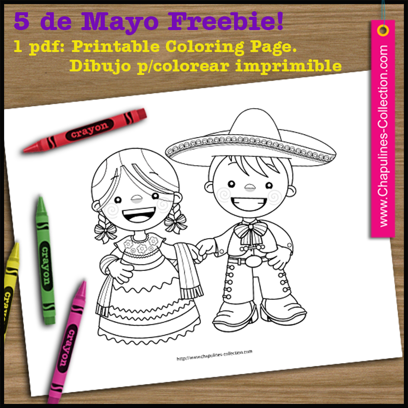 May 5th Freebie China Poblana And Charro Traditional