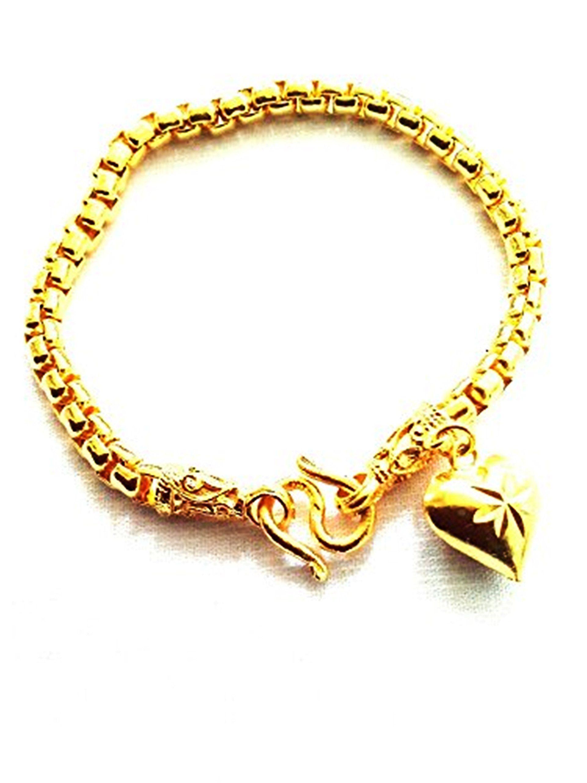 Elegant Thai 22k 23k 24k Gold Plated Gp Bracelet Bangle Jewelry 22K