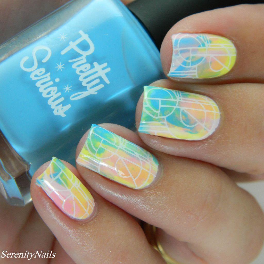 pastel-geometric-nail-art-2   MY NAIL ART OBSESSION #2   Pinterest ...