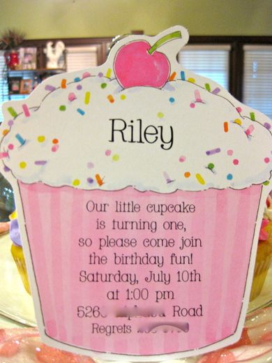 Cupcakes birthday party ideas birthday ideas pinterest cupcake photo 1 of 23 cupcakes birthday rileys first birthday catch my party filmwisefo