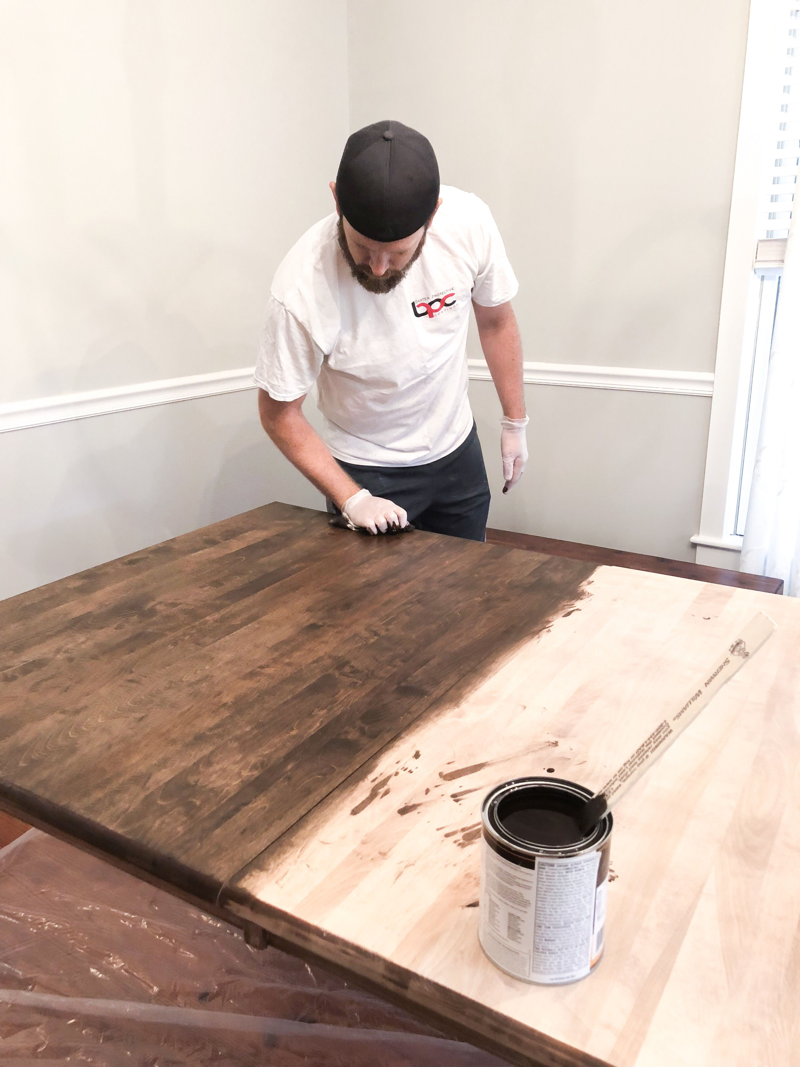 When We Did Our Farmhouse Table Makeover Went With