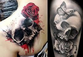 Image Result For Tatuajes De Calaveras Para Mujeres En El Brazo