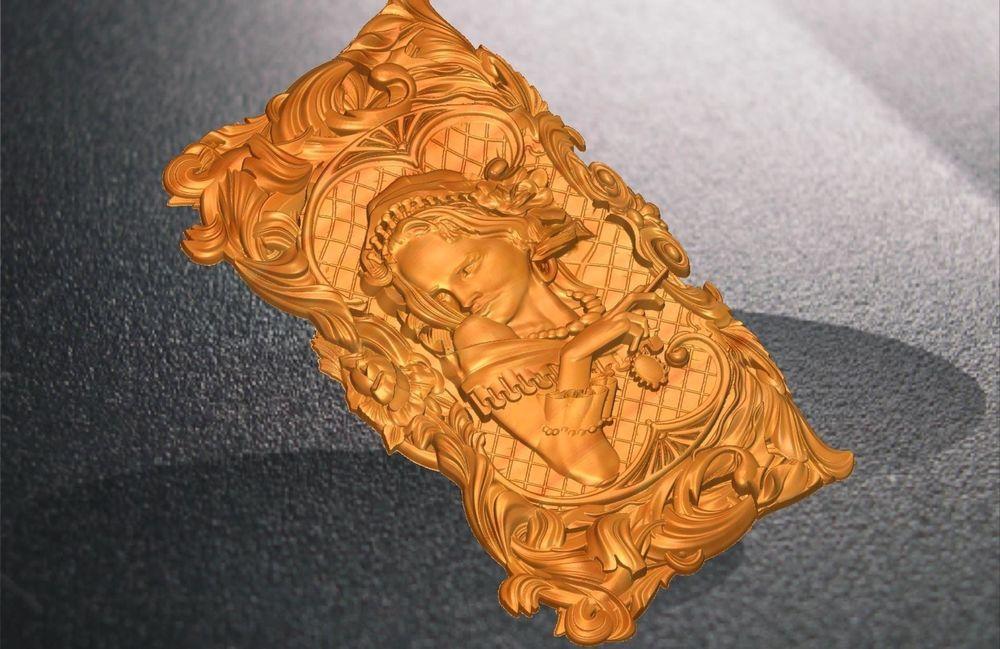 D model relief stl vectric rlf artcam for cnc