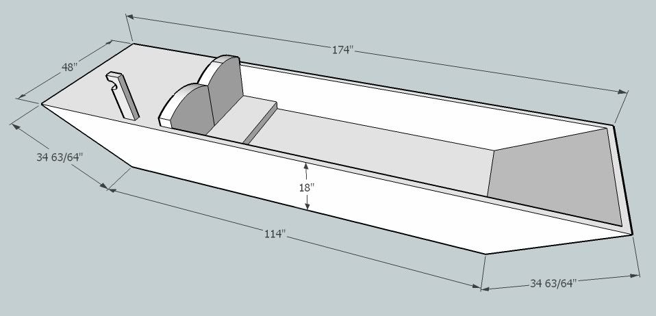 Plywood Jon Boat Plans Free | petites experiences | Pinterest | Boat plans, Plywood and Boating