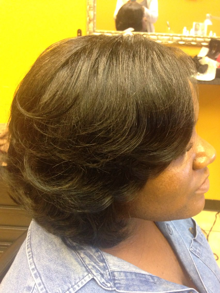 Quick weave protective style | Natural hair styles, Quick ...
