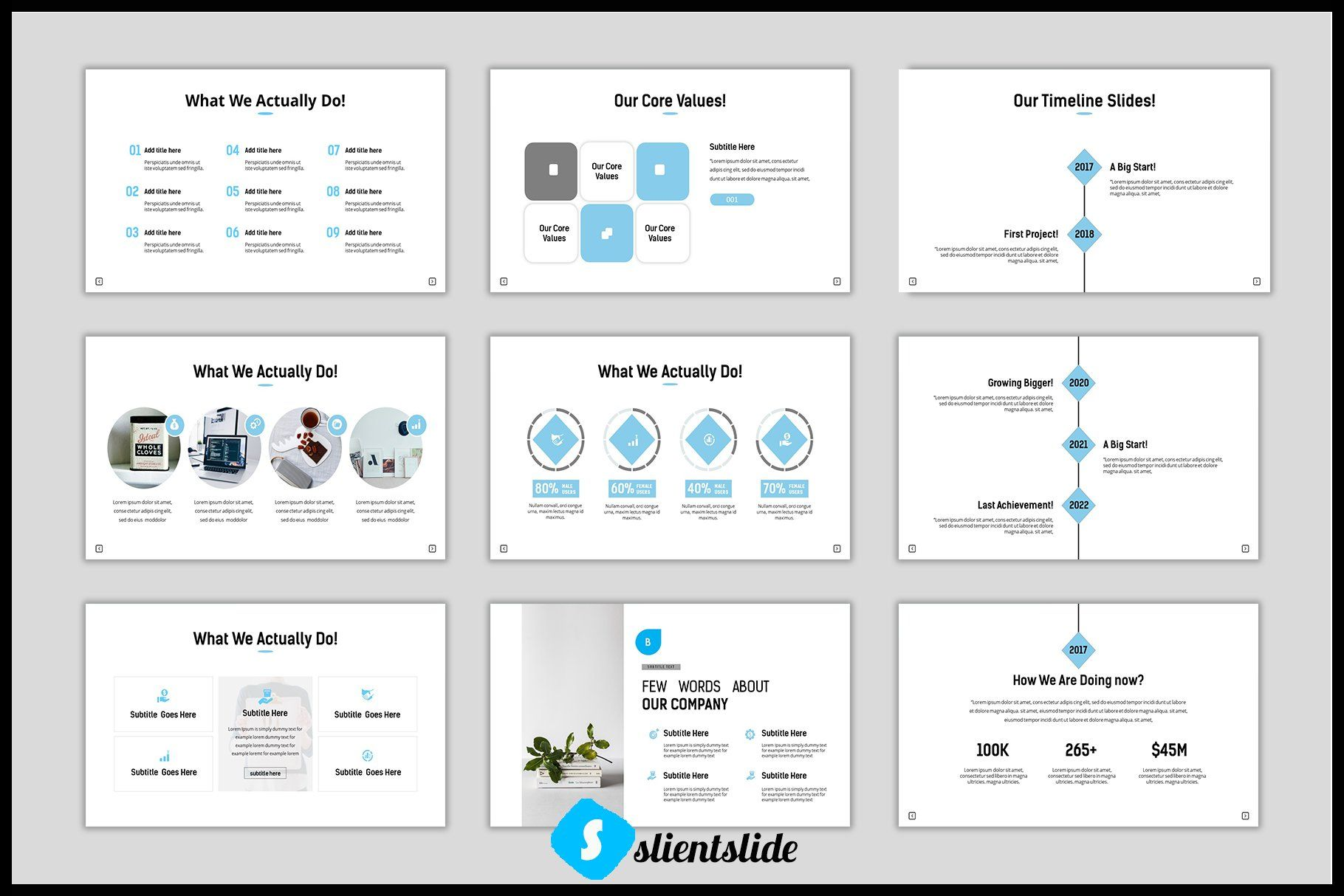 Blancon Powerpoint Template Powerpoint templates