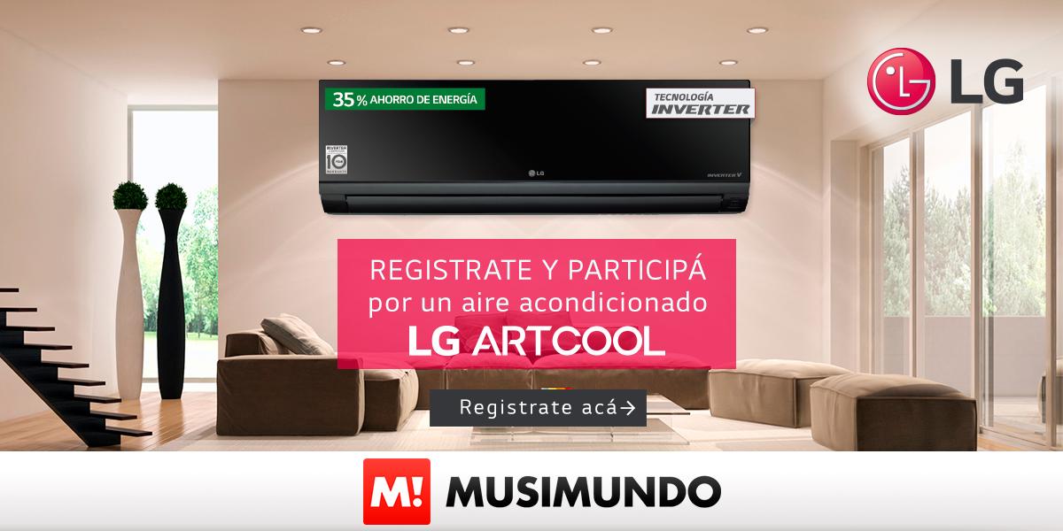 GANÁ UN AIRE ACONDICIONADO LG ART COOL
