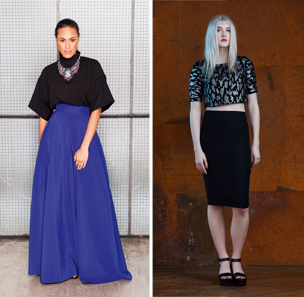 Freehand Fashion - Box top and maxi skirt, from Great British Sewing ...