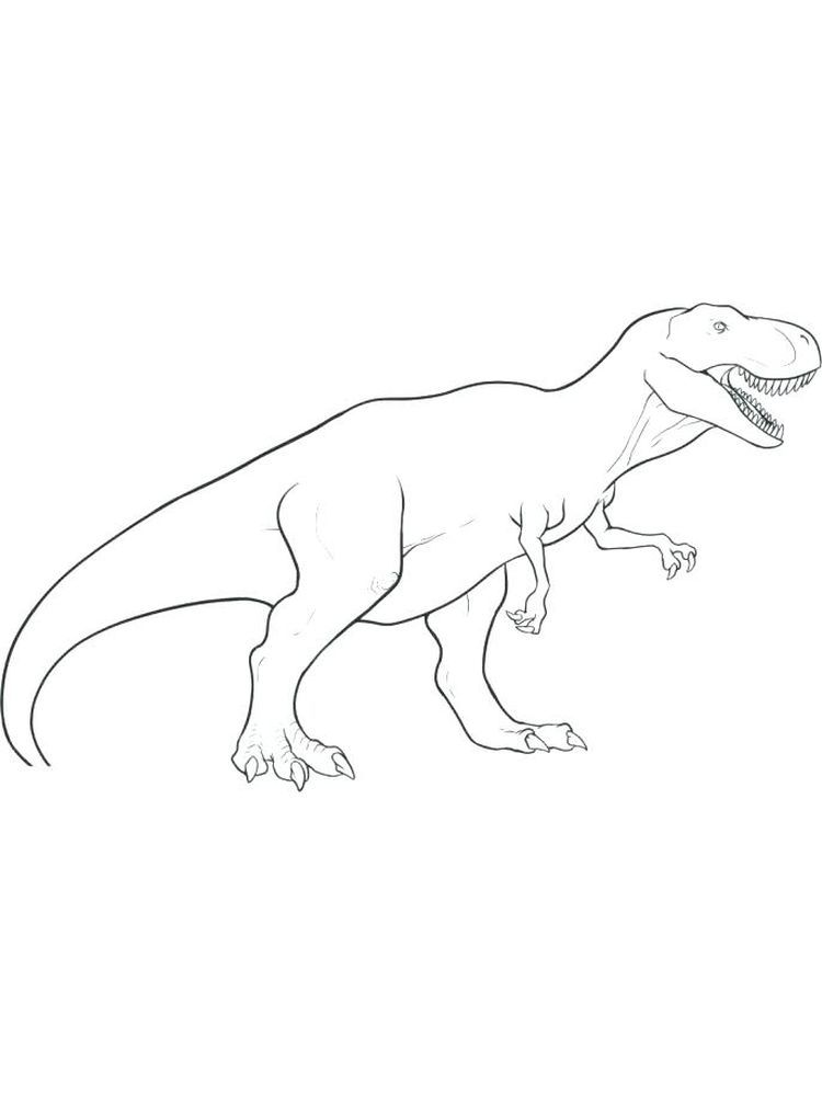 Coloring Pages Of T Rex. T-Rex is indeed a very iconic prehistoric creature. This dinosaur is known for its extraordinary cruelty and the craziest ability to kill any dinosaur... #coloring #coloringpages #printables #coloriage #prehistoriccreatures