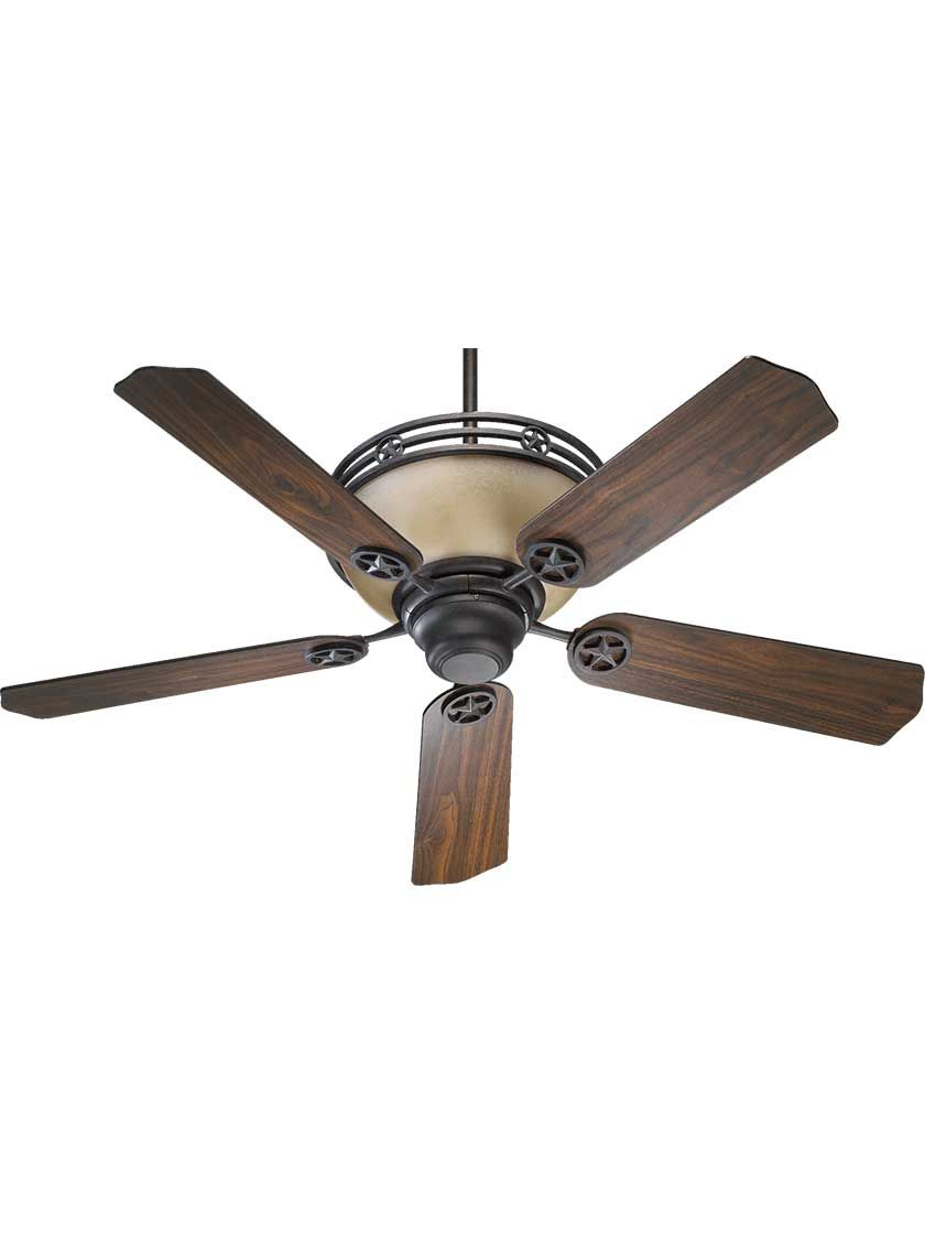 Lone Star 52 Ceiling Fan House Of Antique Hardware Antique Ceiling Fans Ceiling Fan Star Ceiling