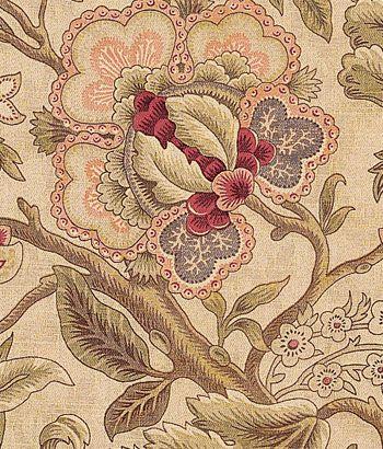 Hatfield Fabric ☗ Living Room Fabric Floral Fabric