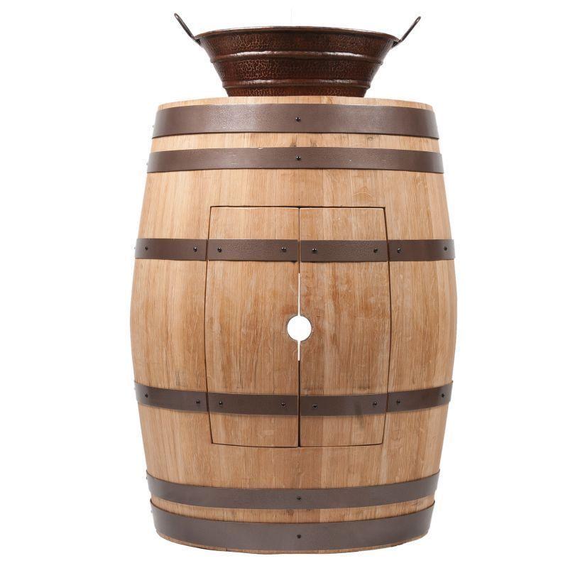 Premier Copper Products Wine Barrel Finish Vanity