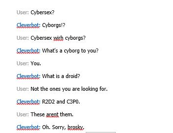Cyber Sex Sayings