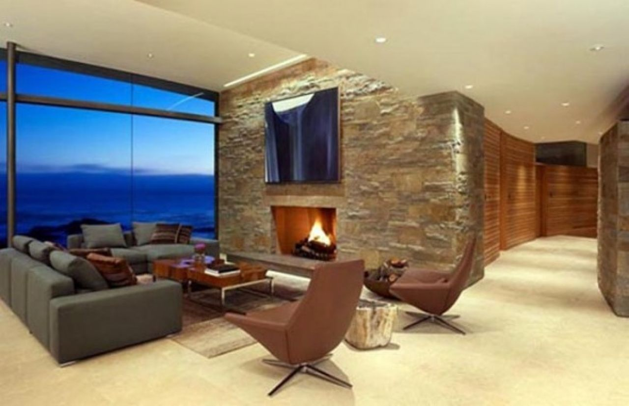 Living Room Modern Living Room With Fireplace modern beach houses fireplaces and living rooms on pinterest