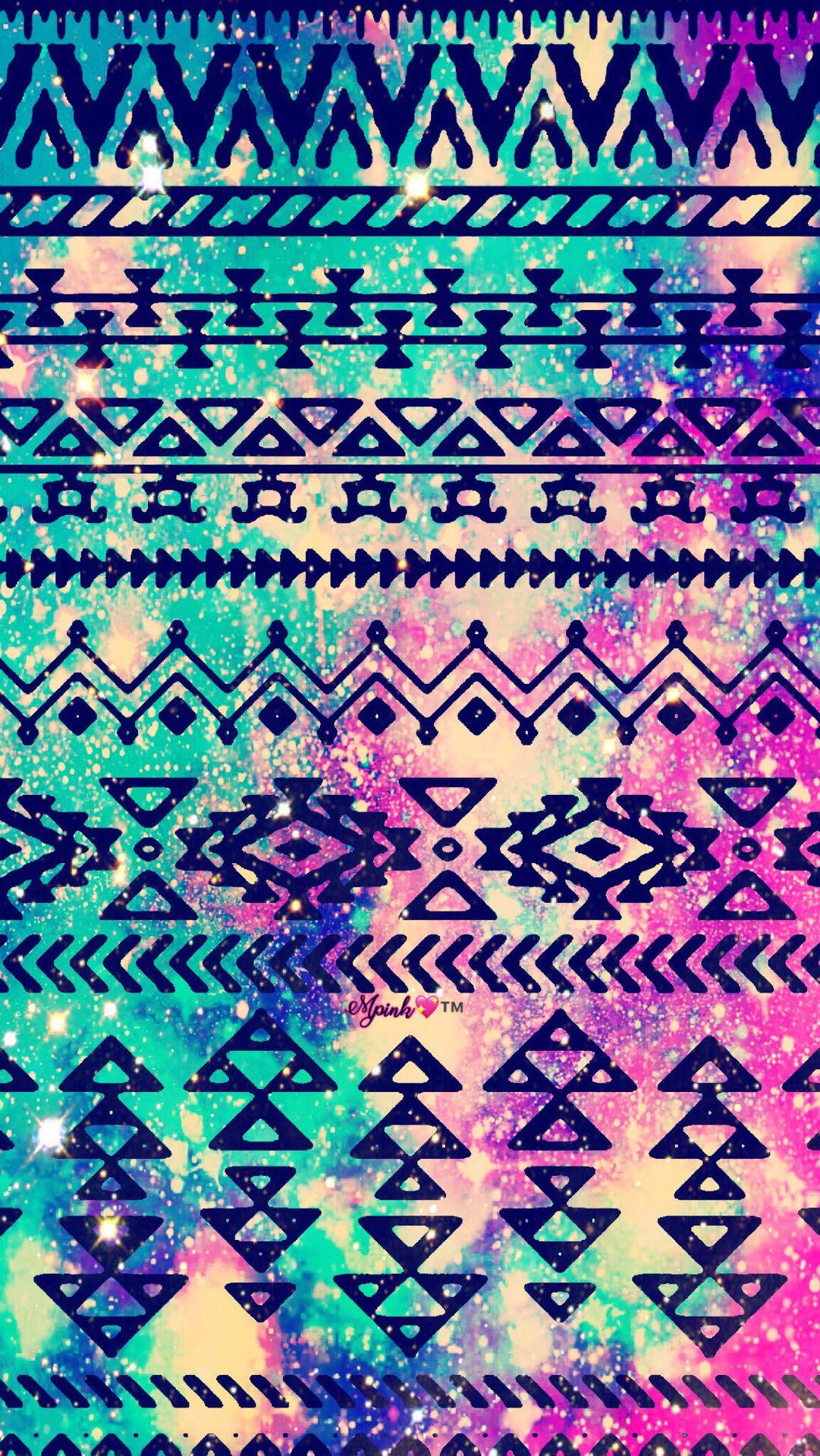 Grunge Tribal Pattern Galaxy Wallpaper Androidwallpaper Iphonewallpaper Wallpaper Galaxy Sparkle Gli Tribal Pattern Background Wallpaper Galaxy Wallpaper