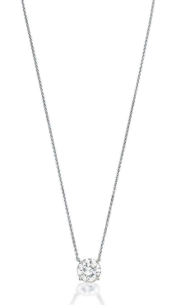 A diamond pendant necklace christiesjewels jewellery pinterest a diamond pendant necklace christiesjewels aloadofball Images