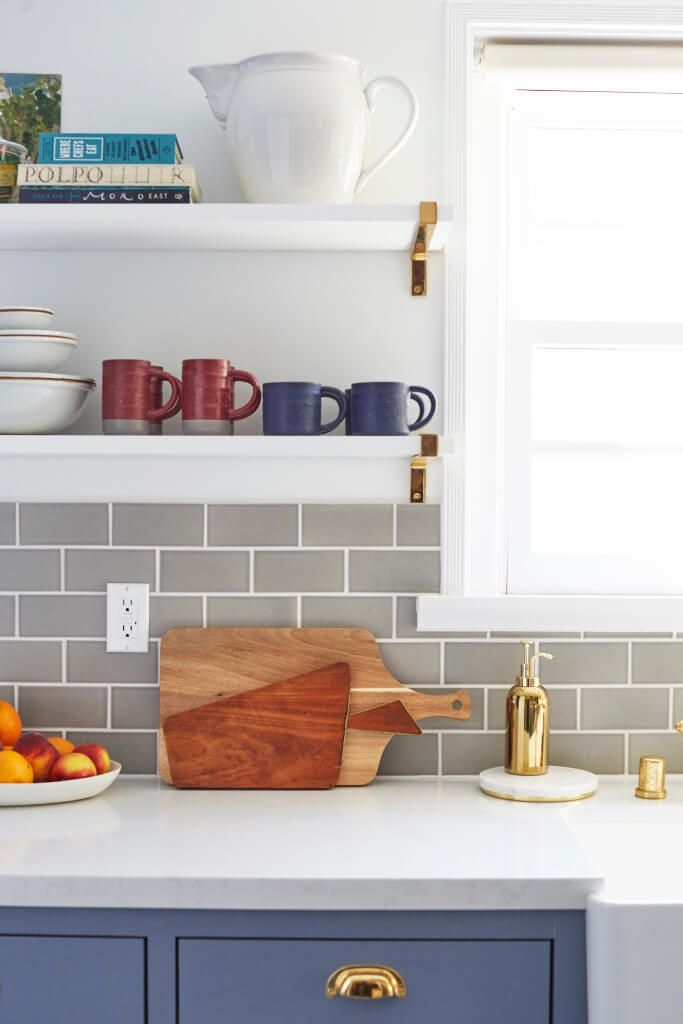 6 reasons to choose open kitchen shelves instead of on kitchen shelves instead of cabinets id=83798
