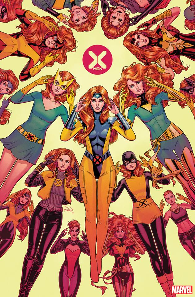 X Men 1 2019 Complete Cover Checklist Marvel Jean Grey Marvel Girls Phoenix Marvel