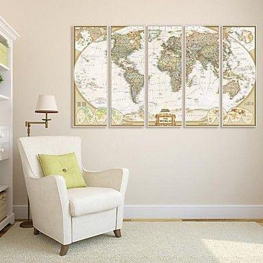 abstrait toile encadr e set de cadres wall art. Black Bedroom Furniture Sets. Home Design Ideas